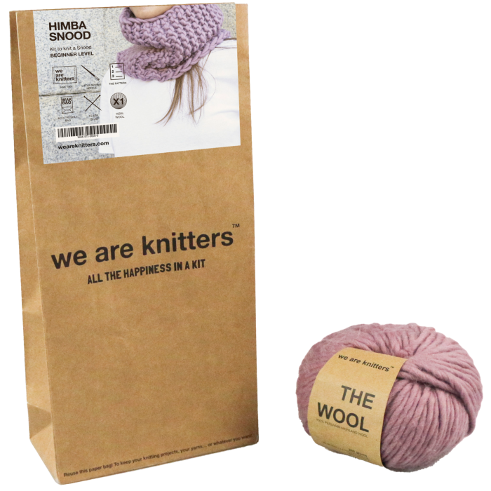 We Are Knitters Himba snood kit, £35