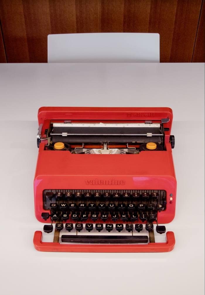 Tadao Ando's typewriter by Ettore Sottsass