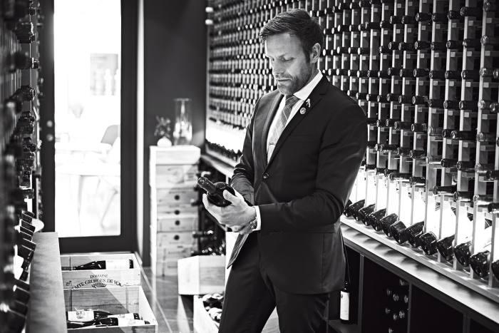 Søren Ledet, wine director and co-owner of Geranium, Copenhagen