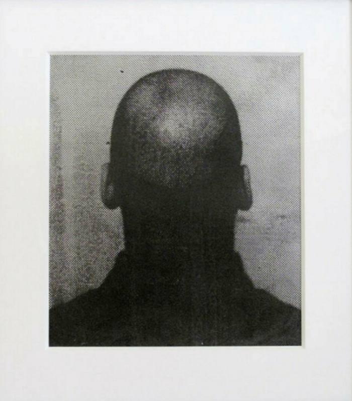 Glenn Ligon's 'Silver Self-Portrait' (2005)