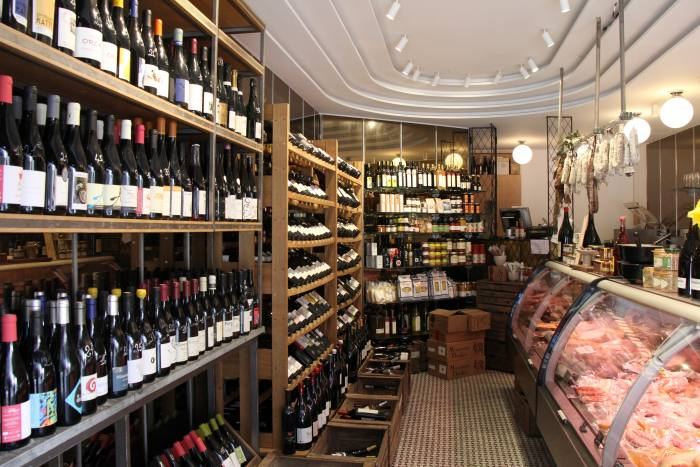 Selected wines and artisanal French produce at O Divin