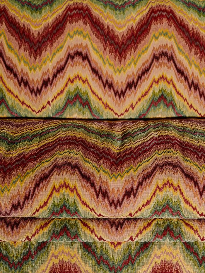 Close-up of the fabric on the Binderton sofa, from £10,000
