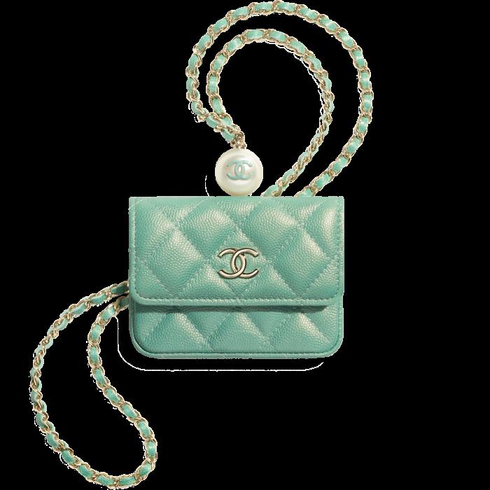 Chanel iridescent grained calfskin clutch, £1,105