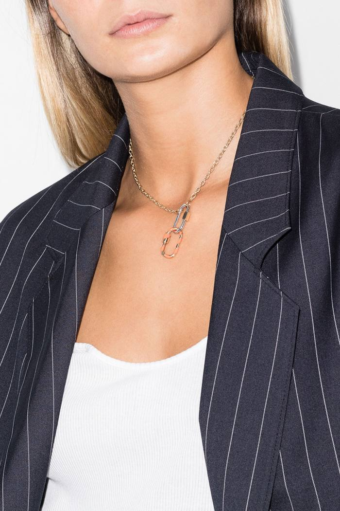 Maria Aaron gold and enamel Medium Lock charm, £850