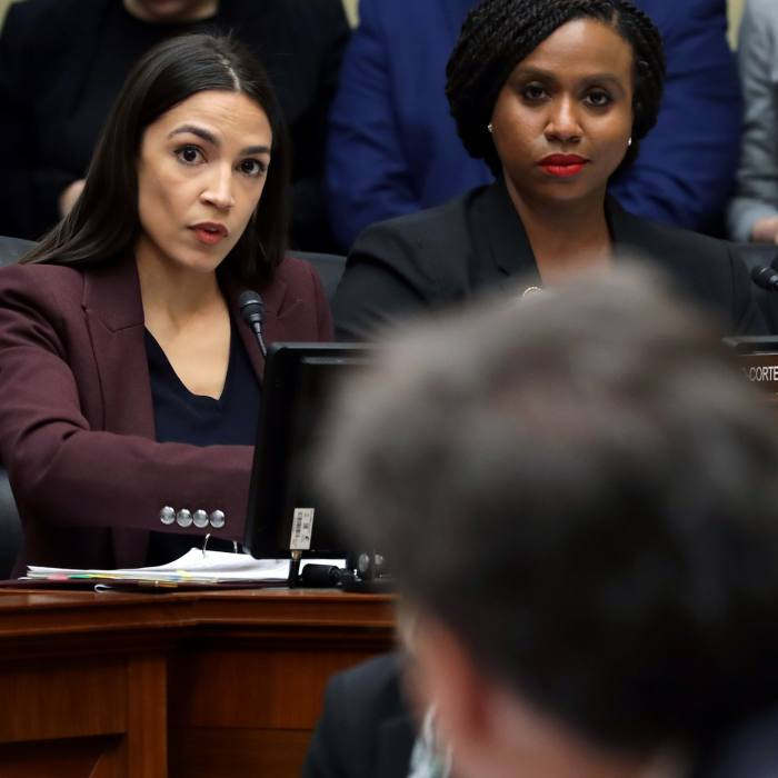"""Questioning Michael Cohen before the House Oversight Committee: @pick2frac2: """"She is Daenerys Targaryen breathing fire."""" February 27 2019"""