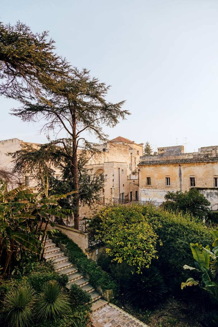 Part of Palazzo Luce's gardens