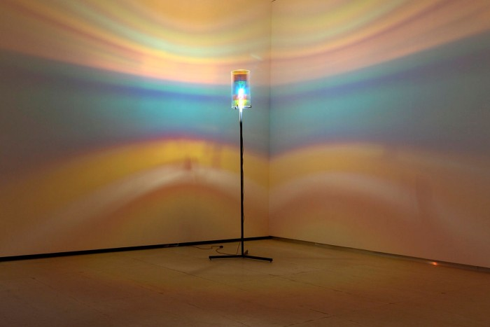 'Striped Eye Lamp' (2005) by Olafur Eliasson will be on show at the Fondation Vincent van Gogh in Arles as part of 'My Cartography'