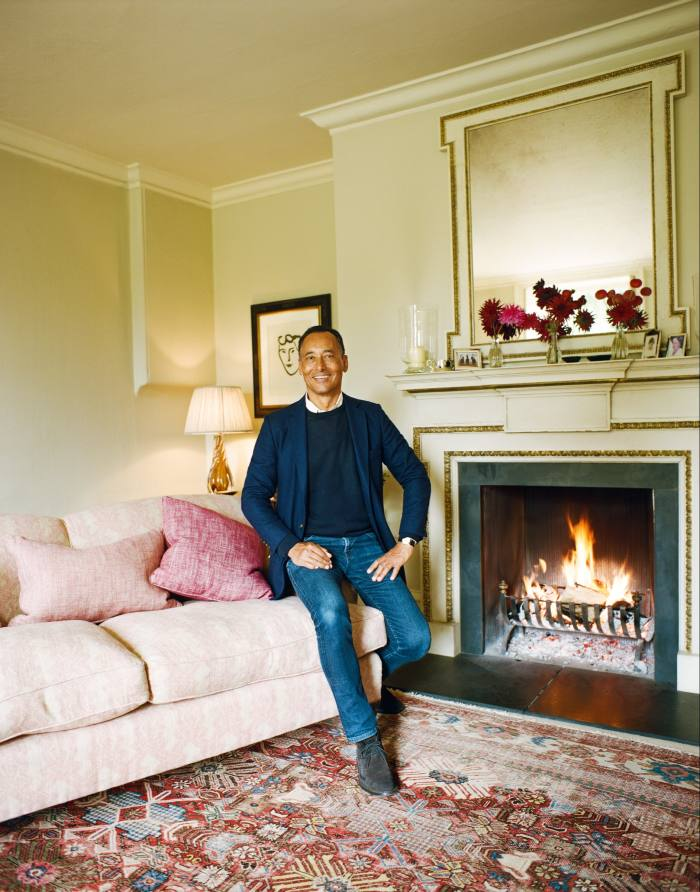Martin Ephson at home in Wiltshire