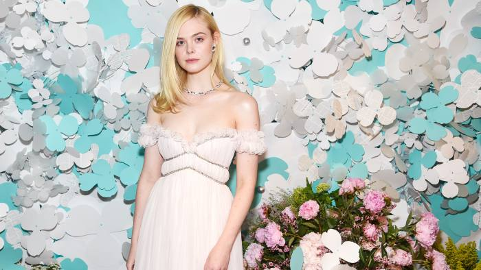 Elle Fanning, hired by Tiffany & Co