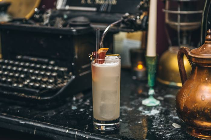 A Tokyo Collins at Ever After bar in east London