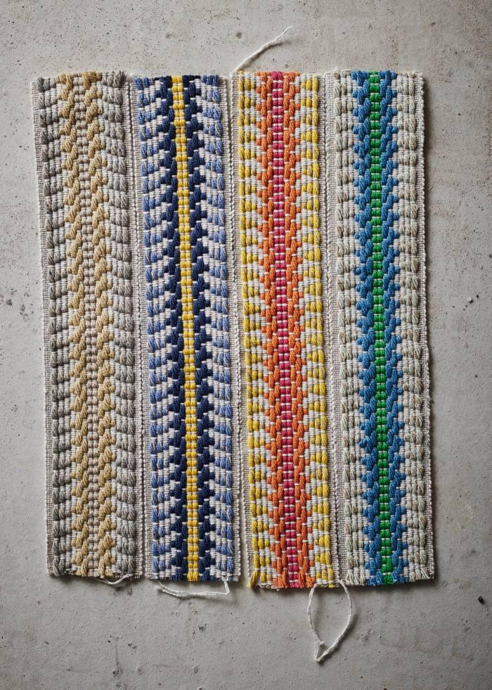 Kit Kemp for Christopher Farr Cloth cotton Railroad Border passementerie, £64 per m