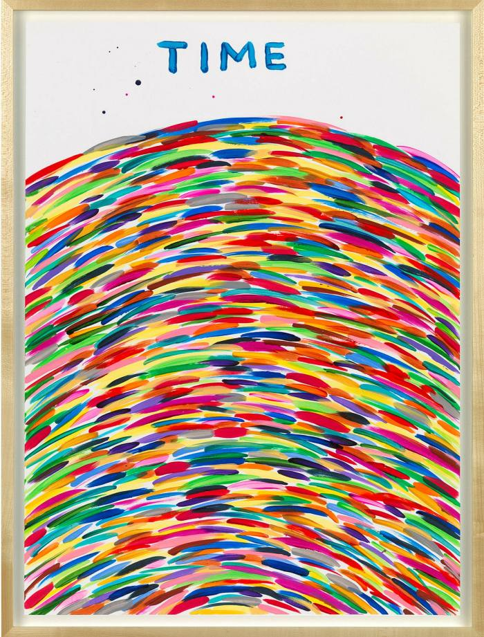 'Untitled (Time)' by David Shrigley (2020)
