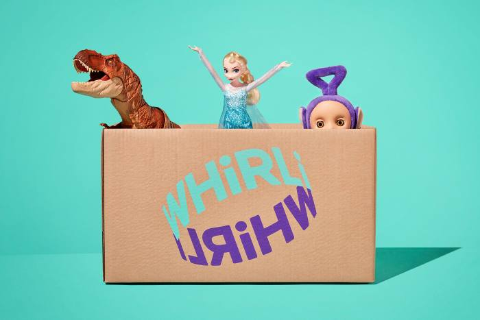 Whirli.com Toy Library, from £10 a month