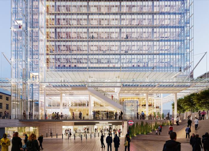 Paddington Square, London, 2022