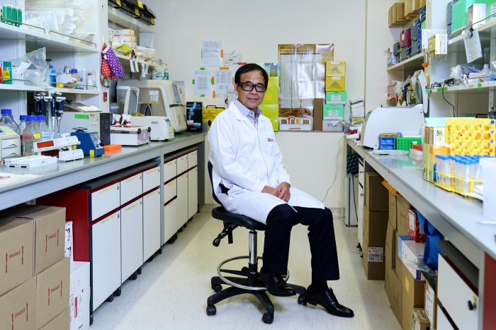 Wang Linfa, director of the emerging infectious diseases programme at Duke-NUS Medical School