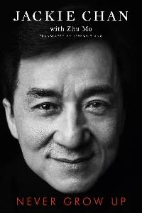 Never Grow Up by Jackie Chan, Barshim's favourite recent read