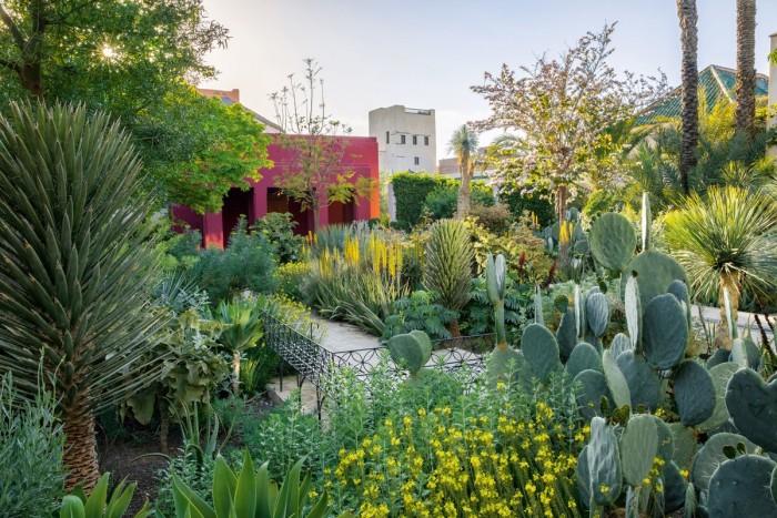 Tom Stuart-Smith's LeJardin Secret in Marrakech