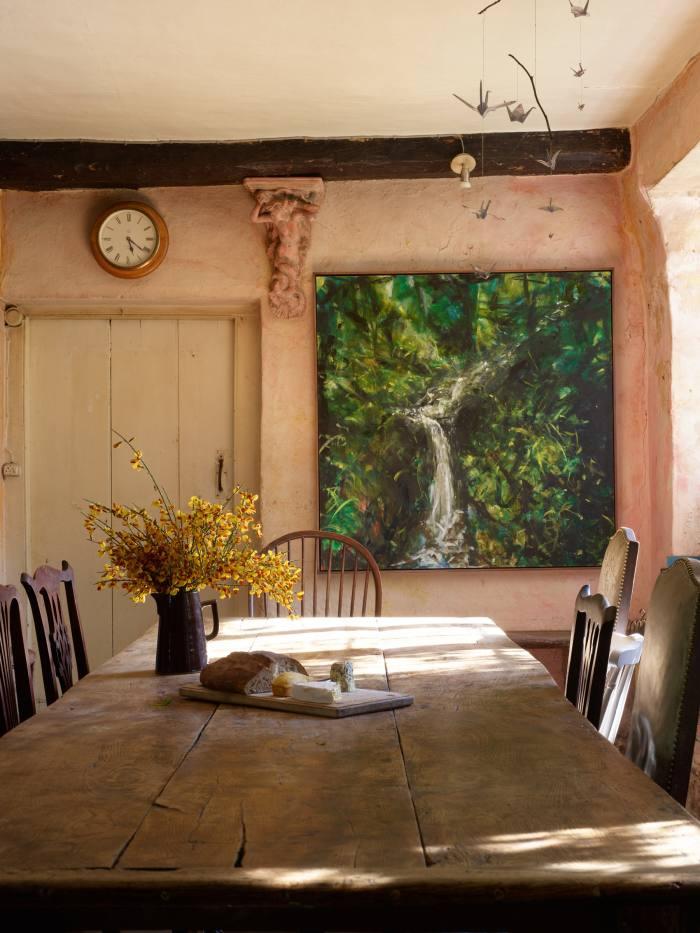 Luscombe Farm, the home of artist Yasmin David