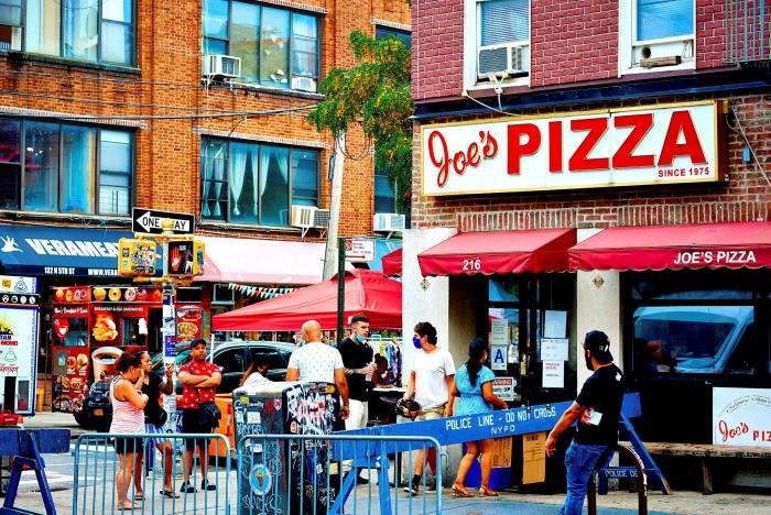 Joe's Pizza in New York