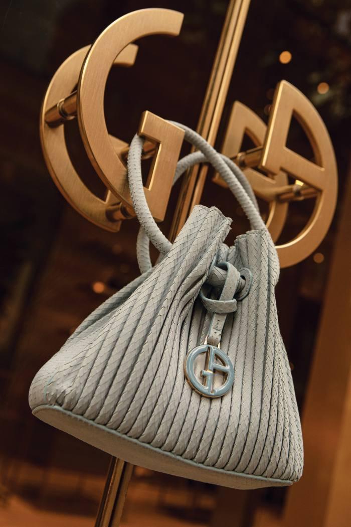 Giorgio Armani suede and leather 2004bag, £1,550