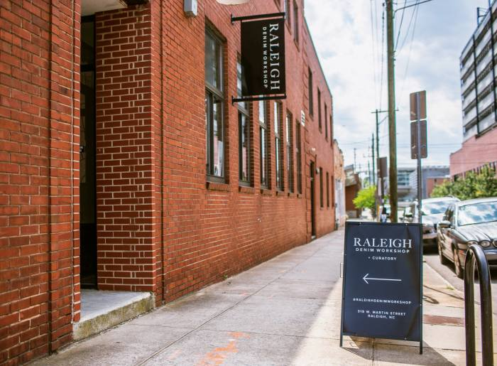 The premises in Raleigh's Warehouse District
