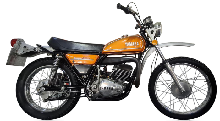 Late-70s Yamaha DT250, £4,499, from Steel City Classics