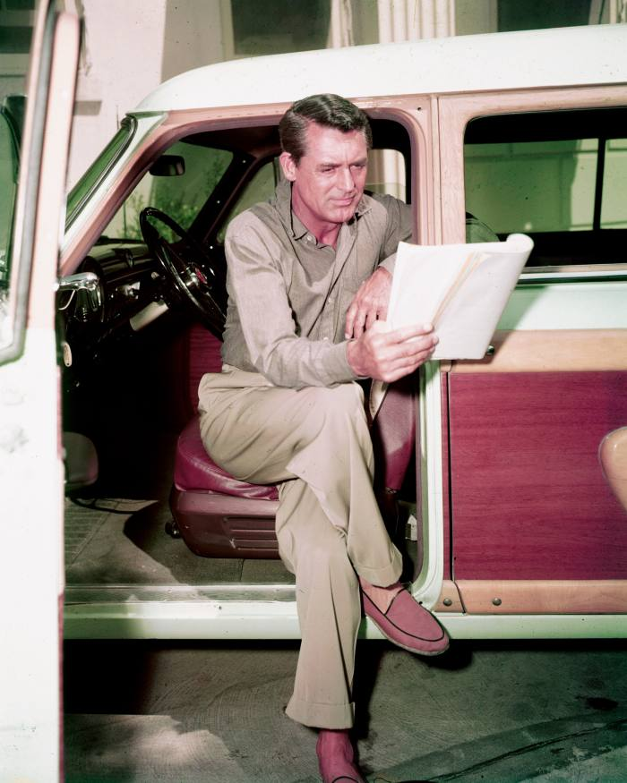 Cary Grant: Tapper's style icon