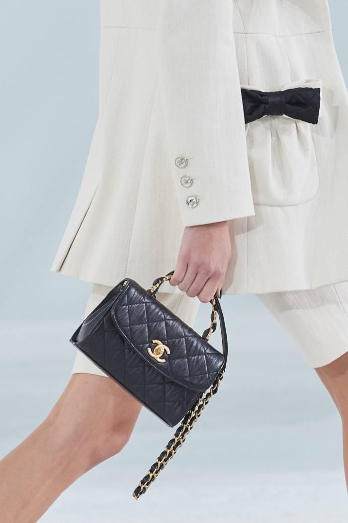 Chanel crumpled-lambskin handbag, £3,765