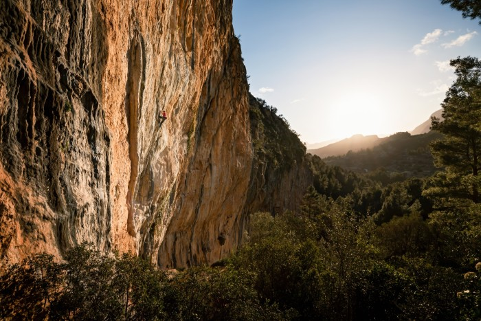 John McKenna in the Hidden Valley in Spain's Costa Blanca