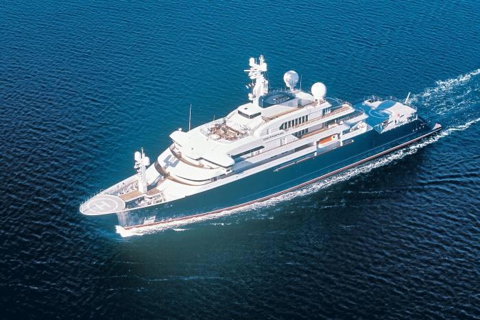 Octopus, Microsoft co-founder Paul Allen's 126m yacht