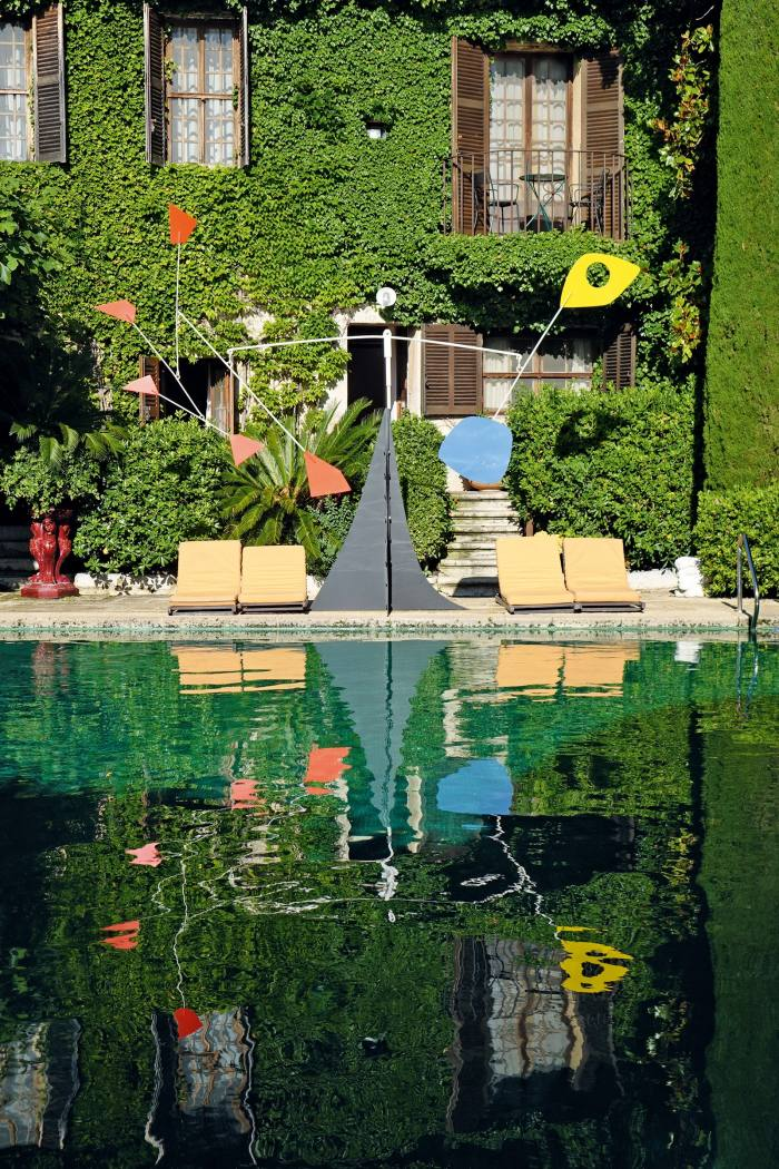 The pool at LaColombe d'Or, Saint-Paul-de-Vence