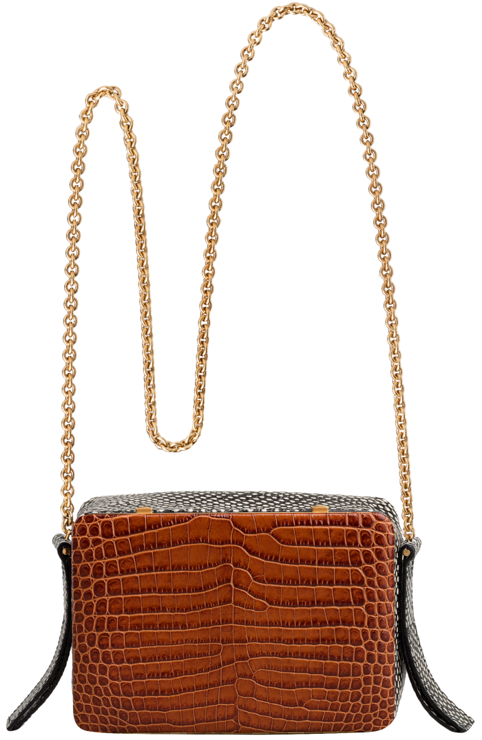 Lutz Morris Malloy bag, €1,150. $10 to Every Mother Counts