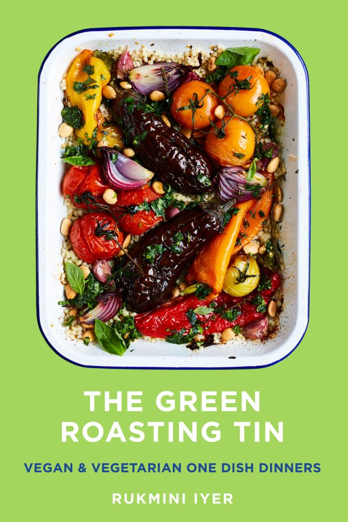 The Green Roasting Tin by Rukmini Iyer (Vintage, £18.99)