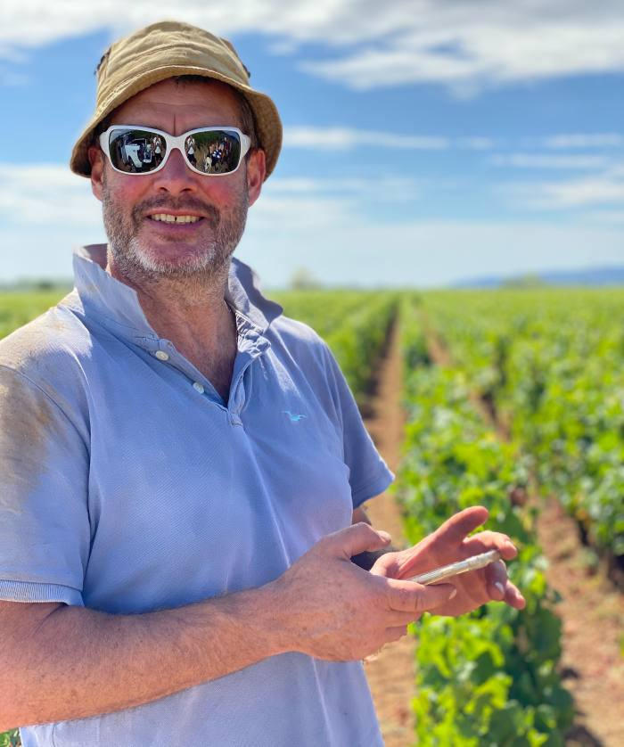 Mark Haisma recently bought his first plot in Gevrey-Chambertin