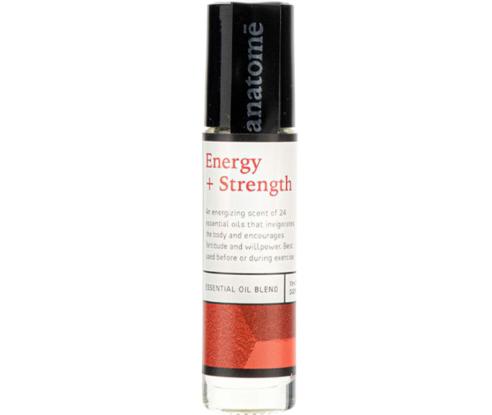 Anatome Energy + Strength essential oil rollerball, £22
