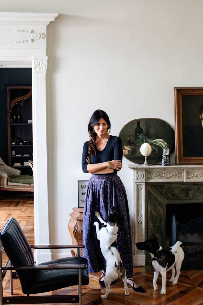 Mimi Thorisson at home in Turin
