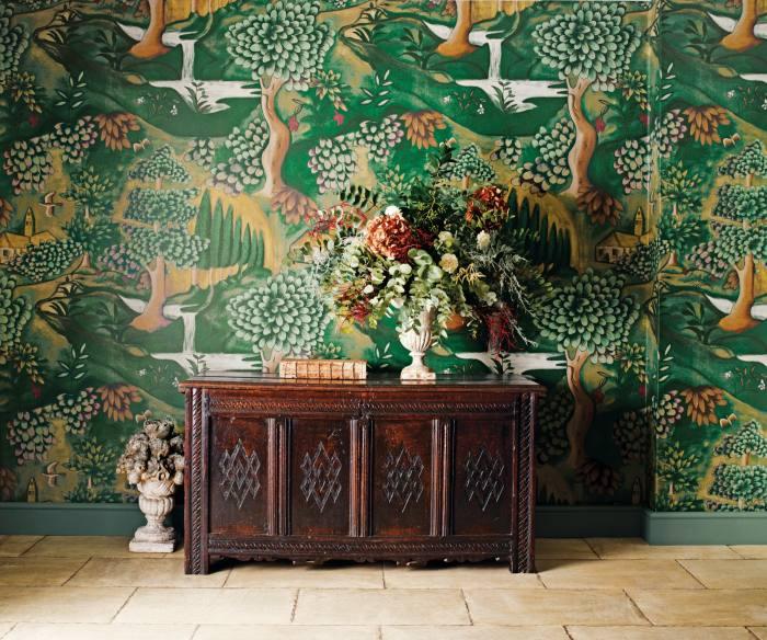 Zoffany verdure wallpaper by Melissa White, £135per m
