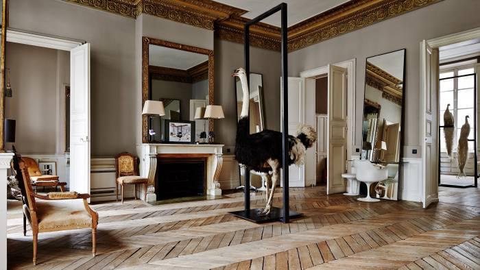 The David Mallett salon in Paris