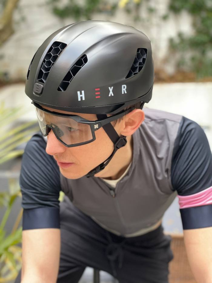 Hexr creates your one-of-a-kind helmet from a 250,000-point scan of your head
