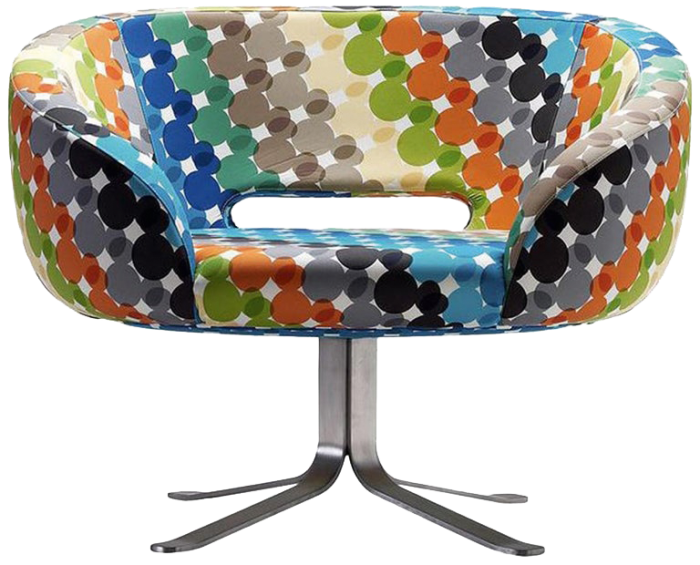 Capellini Walt Disney Rive Droite swivel chair, limited edition of four, £3,799 each, 1stdibs.com