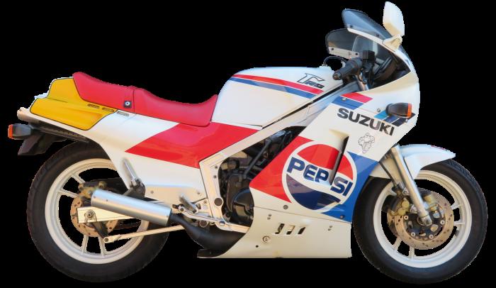 1989 Suzuki 498cc RG500 Gamma, sold for £13,800 at Bonhams