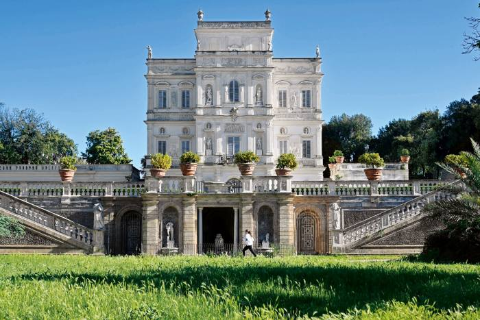 Villa Pamphili in the city's largest park