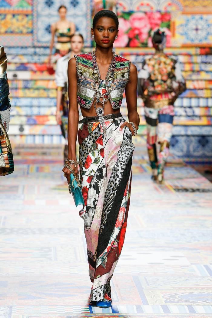 Dolce & Gabbana runway