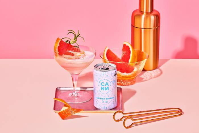 Canna cannabis-infused sparkling tonic, shop.drinkcann.com
