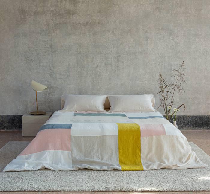 Once Milano patchwork linen blanket (super king size), €690