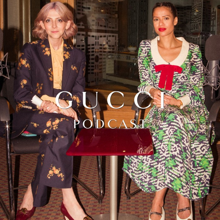 Gucci's podcast spotlights the creatives at the heart of the brand's collaborations