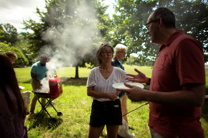 A July 4 barbecue at Prospect Park