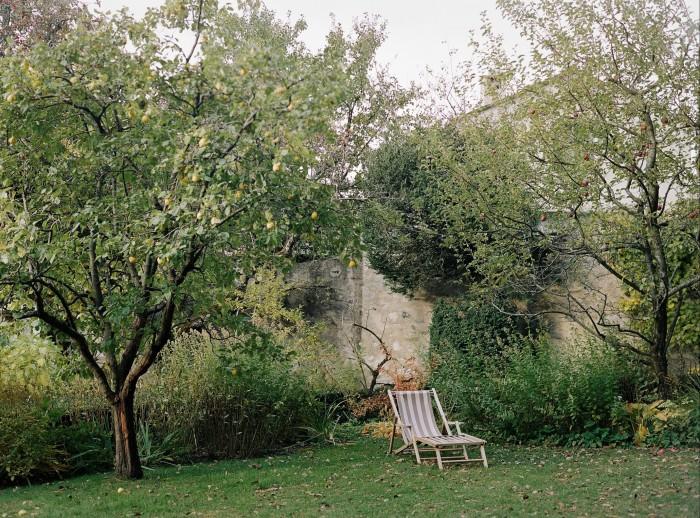The hotel garden datesback to 1701