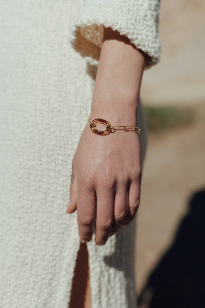 CLED Day Loop bracelet, £95. 10% of proceeds to We Act for Environmental Justice and Black Futures Lab