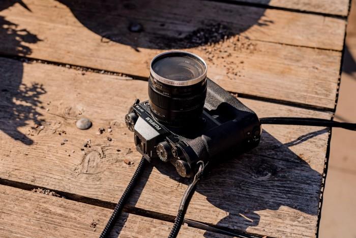 His Fujifilm X-T2 camera